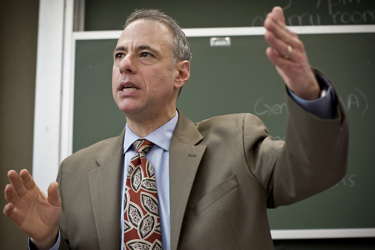 Professor David M. Siegel of the Center for Law and Social Responsibility