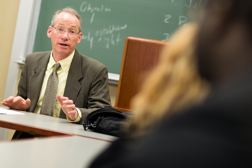 Professor Russell Engler of the Center for Law and Social Responsibility at New England Law Boston