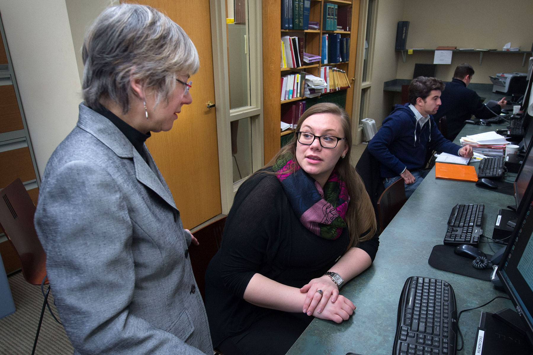 Faculty and student discuss law school pro bono programs